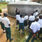 The Water Project: Sawawa Secondary School -  Teaching Rain Tank Parts And Function