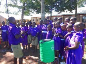 The Water Project:  Students Turn To Lead Handwashing