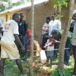 The Water Project: Namarambi Community, Iddi Spring -  All Ages Learn Handwashing