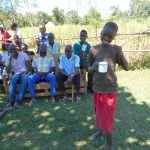The Water Project: Kalenda A Community, Webo Simali Spring -  Toothbrushing