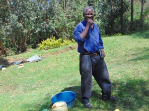 The Water Project:  Showing Off Gums Whil Brushing