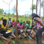 The Water Project: Maondo Community, Ambundo Spring -  Listening To A Response