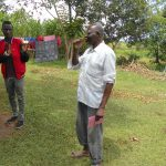 The Water Project: Kalenda B Community, Lumbasi Spring -  Toothbrushing Volunteer