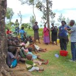 The Water Project: Emurumba Community, Makokha Spring -  Handwashing Session