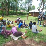 The Water Project: Imusutsu Community, Ikosangwa Spring -  Samuel Handwashing