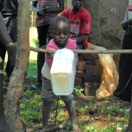 The Water Project: Namarambi Community, Iddi Spring -  Handwashing With Tippy Tap