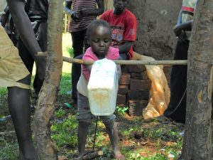 The Water Project:  Handwashing With Tippy Tap