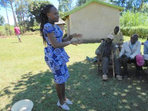 The Water Project:  Trainer Patience On Handwashing