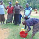 The Water Project: Emurumba Community, Makokha Spring -  Handwashing