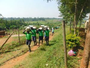The Water Project:  Students Help Deliver Materials