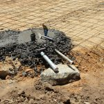 The Water Project: Friends School Ikoli Secondary -  Setting Tap And Drain Pipes