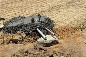 The Water Project:  Setting Tap And Drain Pipes