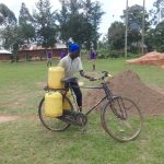 The Water Project: Chiliva Primary School -  Bringing Water For Construction