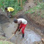 The Water Project: Mubinga Community, Mulutondo Spring -  Site Excavation