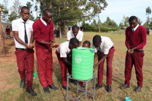 The Water Project:  Boys Handwashing