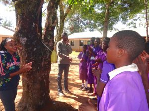 The Water Project:  Handwashing With A Leaky Tin