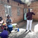 The Water Project: Mwichina Community, Matanyi Spring -  Dental Hygiene Session