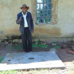 The Water Project: Musiachi Community, Mutuli Spring -  New Sanitation Slab Owner