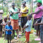 The Water Project: Maondo Community, Ambundo Spring -  Learning Handwashing Steps