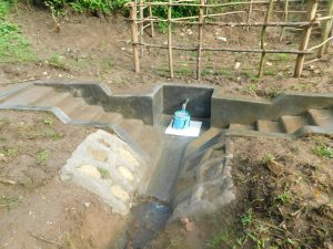 The Water Project:  Clean Water Flows At Completed Lishenga Spring