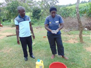 The Water Project:  Chv Grace Aswani Shows Handwashing