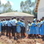The Water Project: Hobunaka Primary School -  Laura Teaches Parts Of The Rain Tank