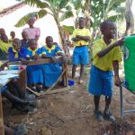 The Water Project: Saride Primary School -  Handwashing Demonstration
