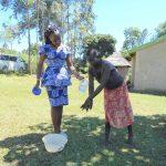 The Water Project: Kalenda A Community, Webo Simali Spring -  Handwashing