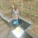 The Water Project: Rosterman Community, Lishenga Spring -  Happy Day At The Spring