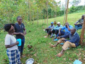 The Water Project:  Samuel Leads Handwashing