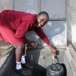 The Water Project: Friends School Ikoli Secondary -  Sylvia Collects Water