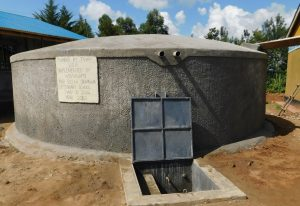 The Water Project:  Tank With Water Flowing