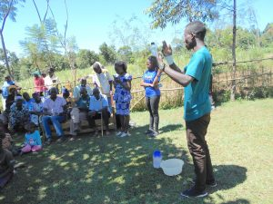 The Water Project:  Trainer Amos On Solar Disinfection
