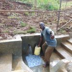 The Water Project: Musiachi Community, Mutuli Spring -  Thumbs Up For Clean Water