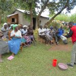 The Water Project: Kalenda B Community, Lumbasi Spring -  Learning Handwashing Steps