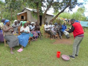 The Water Project:  Learning Handwashing Steps