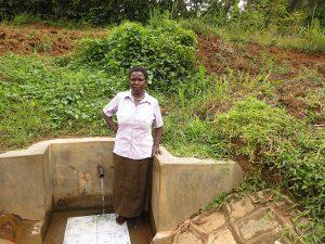 The Water Project:  Agnetta Tuanga