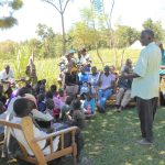 The Water Project: Kalenda A Community, Webo Simali Spring -  Community Member Shares A Response