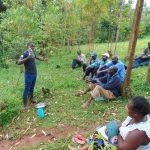 The Water Project: Kitulu Community, Kiduve Spring -  Samuel Explains Solar Disinfection