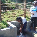 The Water Project: Mukangu Community, Metah Spring -  Smiles At The Spring