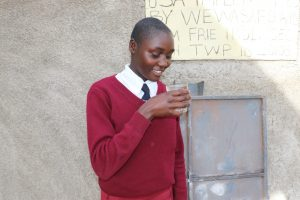 The Water Project:  Slyvia Takes A Fresh Drink