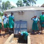 The Water Project: Bumbo Primary School -  Thumbs Up For Clean Water