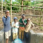The Water Project: Rosterman Community, Lishenga Spring -  Boys Pose With The Spring