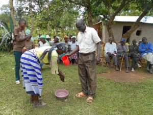 The Water Project:  Handwashing Practice
