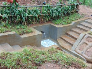 The Water Project:  Water Flows From Ikosangwa Spring