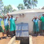 The Water Project: Bumbo Primary School -  Celebrating The Rain Tank