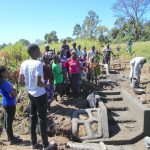 The Water Project: Kalenda A Community, Webo Simali Spring -  Trainer Ian On Site Management
