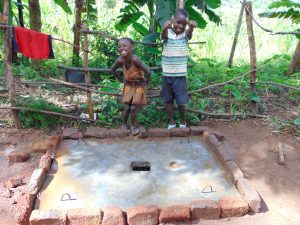 The Water Project:  Kids With Curing Sanitation Platform
