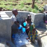 The Water Project: Mukangu Community, Metah Spring -  Kids Get A Fresh Drink