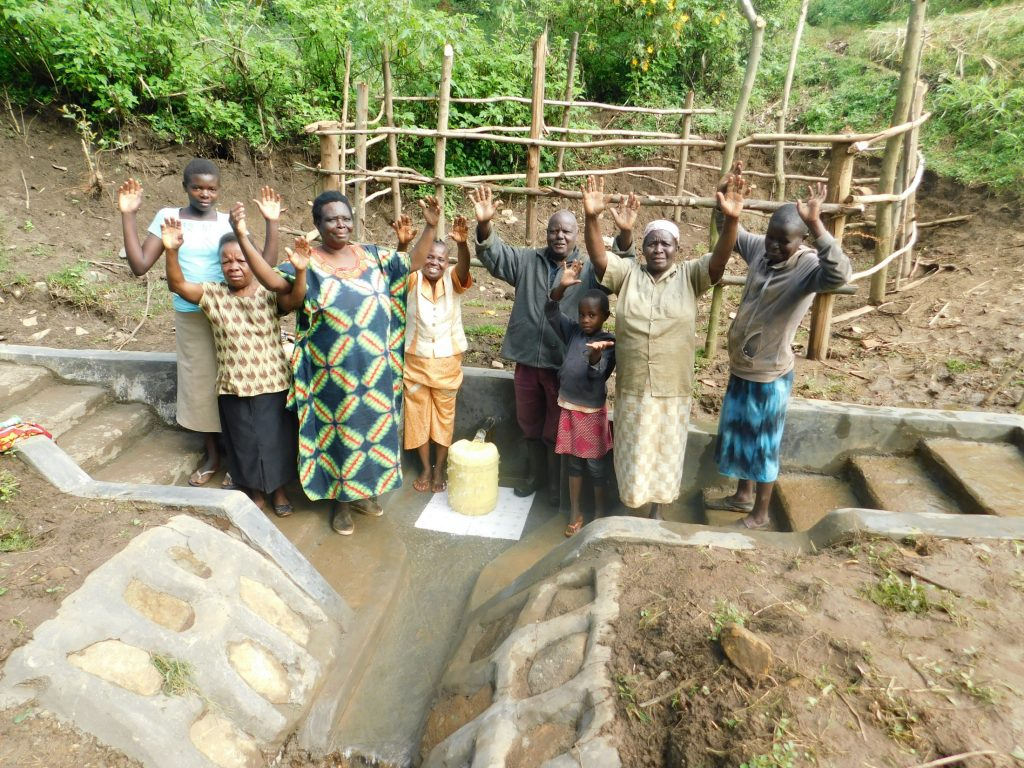 The Water Project : 37-kenya19139-celebrating-the-spring